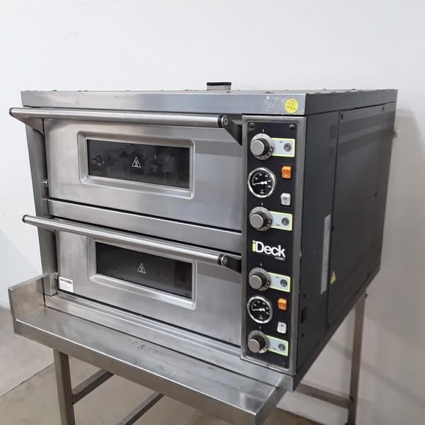 Used Moretti Forni PD60. 60 Double Pizza Oven (A8713)