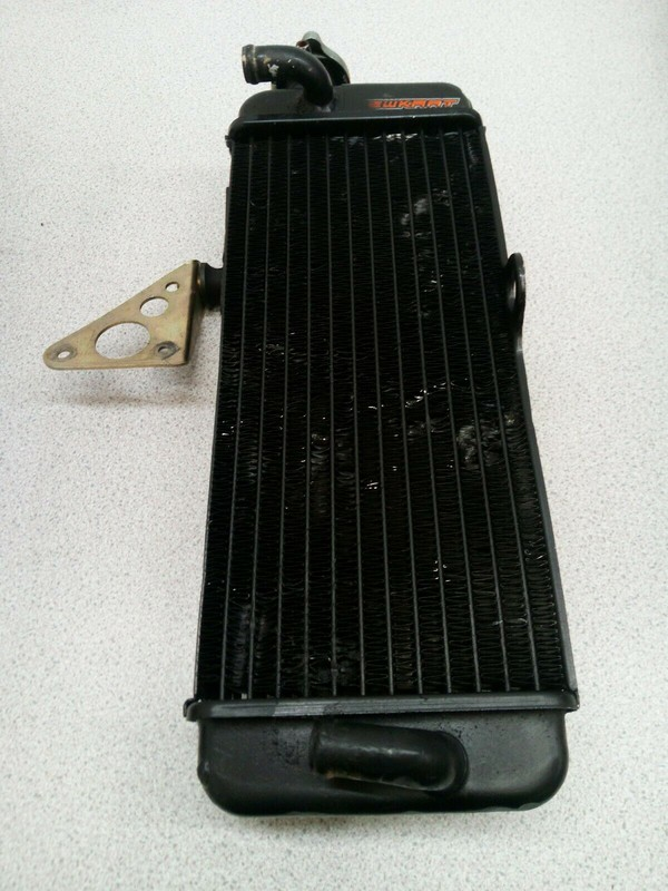Used Kart Rotax Max Black Radiator And Fittings
