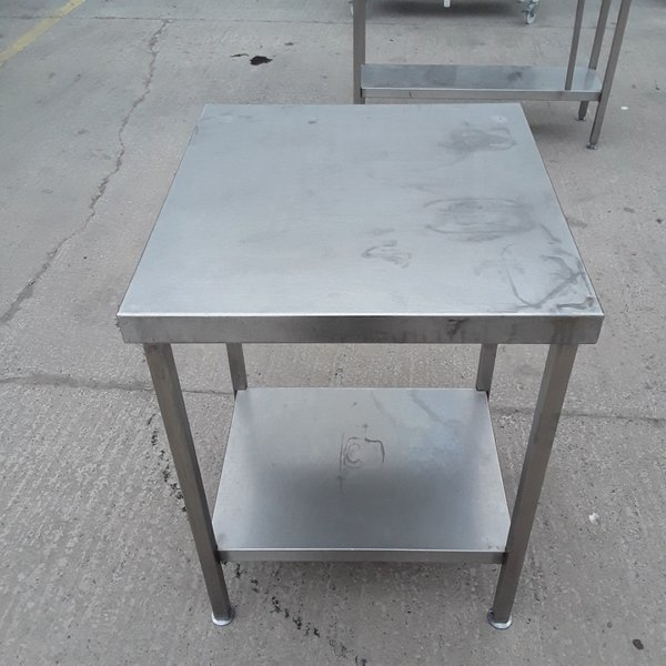 Small stainless table / bench