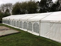 9m x 24m Hocker Clear Span Marquee