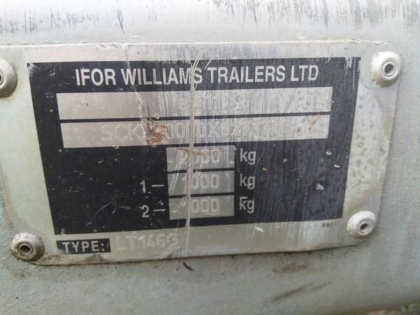 LT146G Ifor Williams Trailer