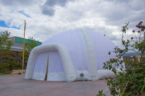 10m Inflatable Dome with Sealed Air Beams