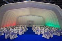 Air roof marquee inflatable