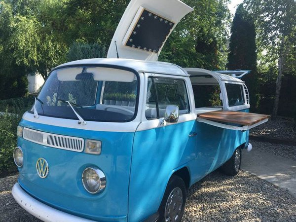 VW Camper Wedding Bar