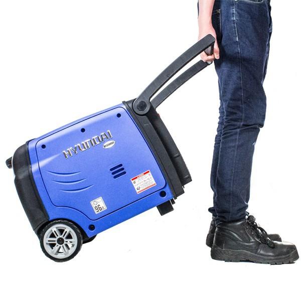 Wheeled generator