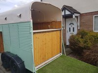 Horse box bar / catering trailer