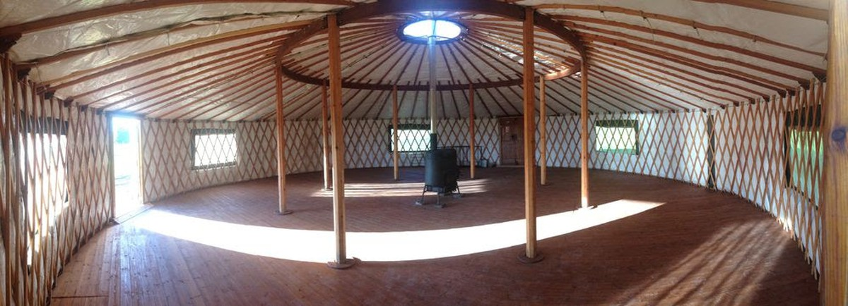 Curlew Secondhand Marquees Yurt Or Ger 40 Ft 12m