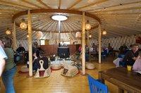 40 ft (12m) Yurt by Wildwood Yurts of Cumbria