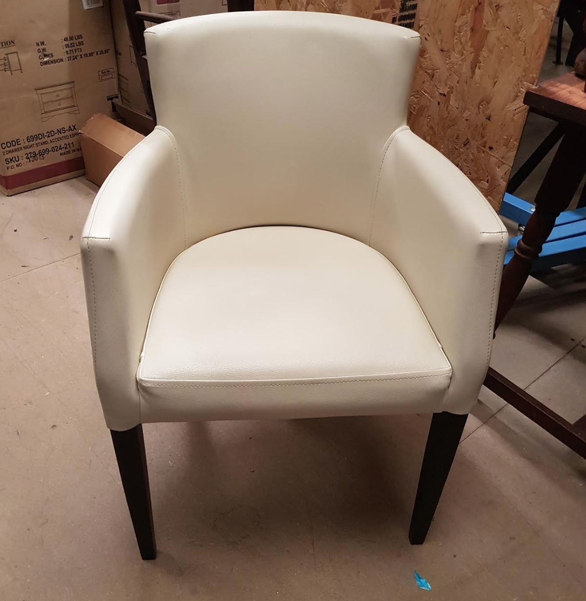 Secondhand Chairs And Tables Lounge Furniture 10x Cream Faux