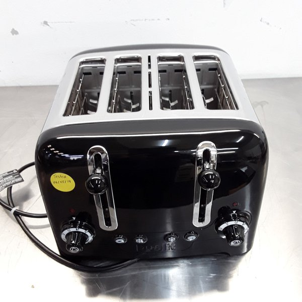 Ex Demo Dualit GH124 4 Slot Toaster	(8736)