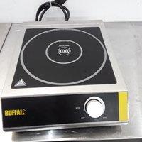 Ex Demo Buffalo CE208 Single Induction Hob(8737)