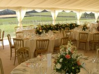 Selling Roder Clearspan Marquees with CC Lining
