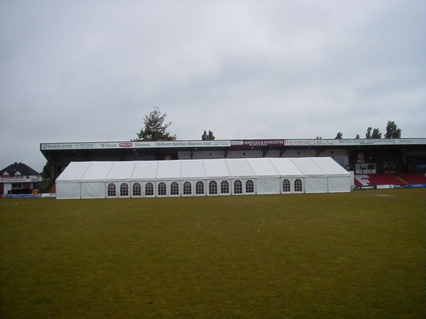 Ex Hire Roder Clearspan Marquees with CC Lining