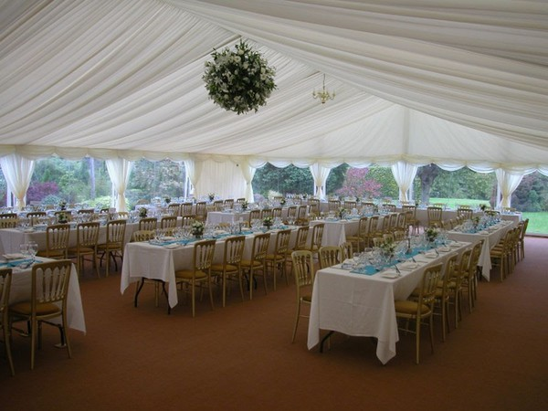 Roder Clearspan Marquees with CC Lining