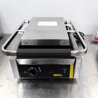 Ex Demo Buffalo CD474 Panini Contact Grill (8747)