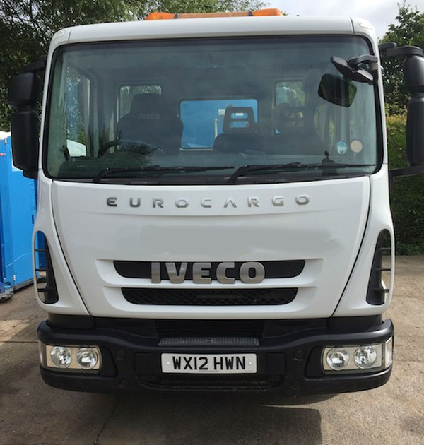 Toilet service lorry for sale