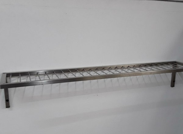 Commercial kitchen stainless steel shelf