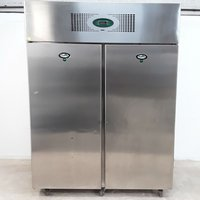 Stainless steel double freezer