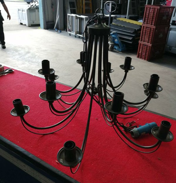 12 arm chandelier for marquees