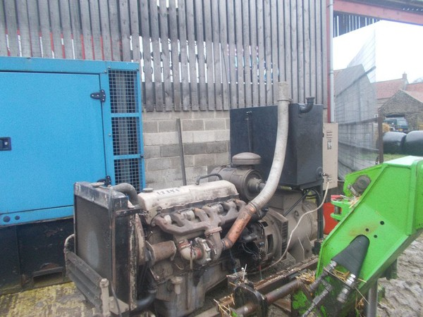 FORD 6 cylinder turbo onto a 68kva alternator