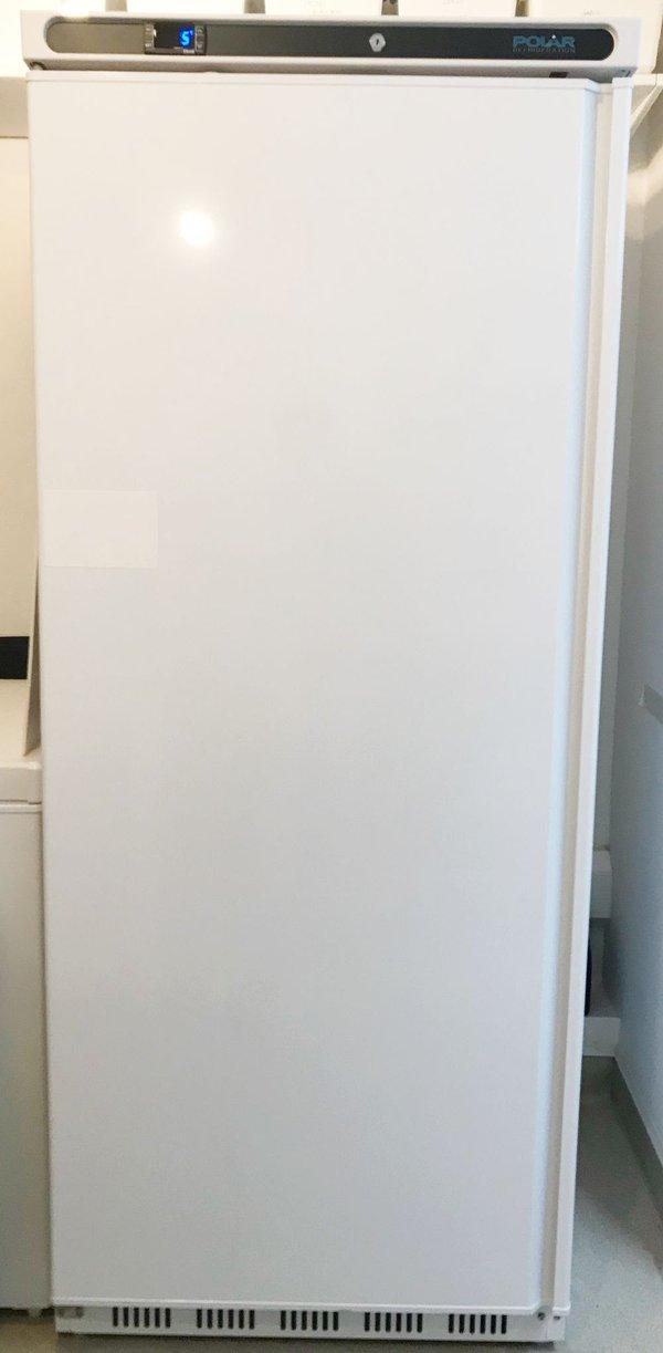 Single Upright white fridge