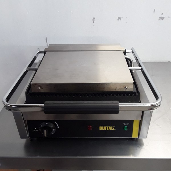 Used Buffalo DM903 Panini Contact Grill (8791)