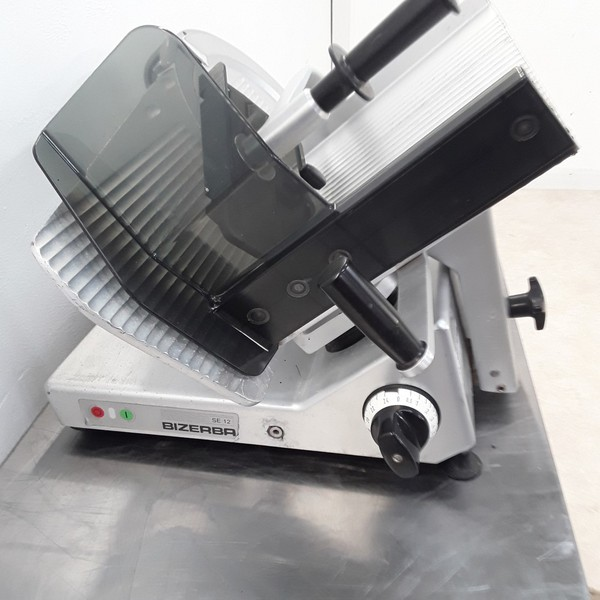 Used Bizerba SE12 Meat Slicer (8792)