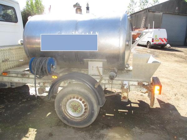 Toilet service steel tank