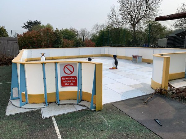 Secondhand ice rink for sale