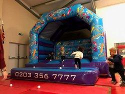 15' x 15' Bouncy castle for sale