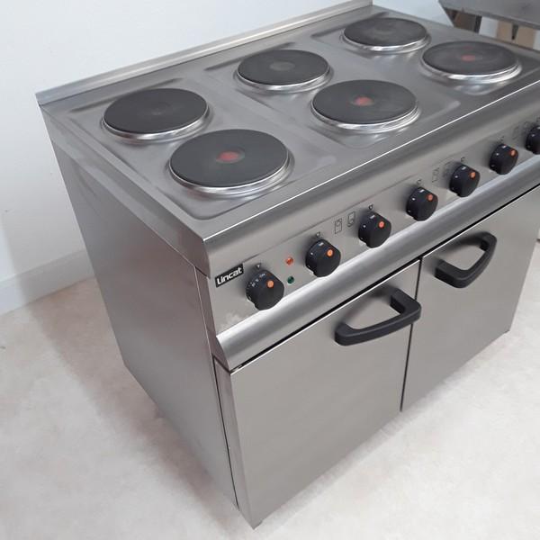 Lincat ESLR9C 6 Hob Range Cooker(U8799)