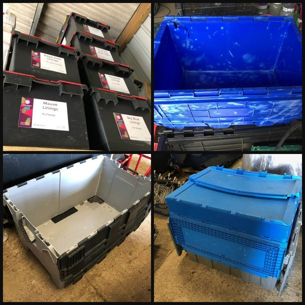 Storage Boxes for Event Equipment