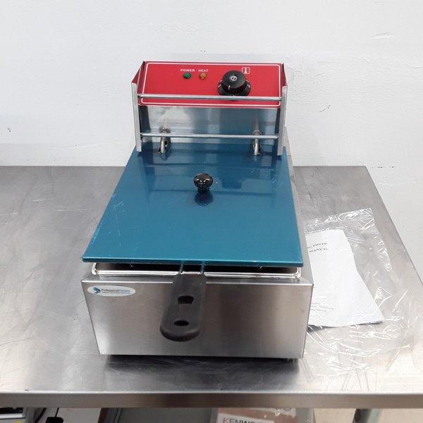 New B Grade Professional kitchen SW6L Single Table Top Fryer 6 L(8803)