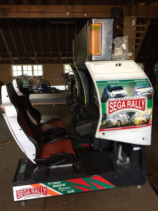 Sega Rally 2 Championship Ex Arcade Game