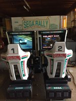Sega Rally 2 Championship Racing Arcade Game