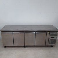 Used Polar GN4100TN 4 Door Bench Fridge (8824)