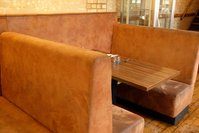 Pub booth seating