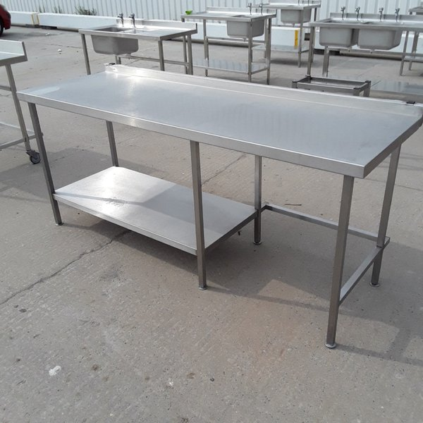 Used   Stainless Steel Table(8829)