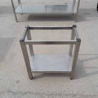 Used  Stainless Steel Stand	(8830)