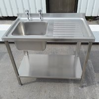 New B Grade Stainless Steel Single Bowl Sink	(A8832)