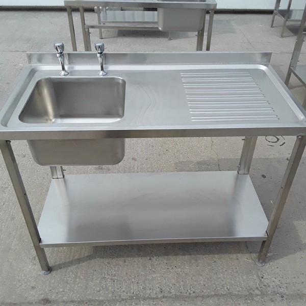 New B Grade Stainless Steel Single Bowl Sink	(A8827)