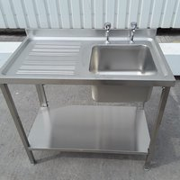New B Grade  Stainless Steel Single Bowl Sink (A8825)
