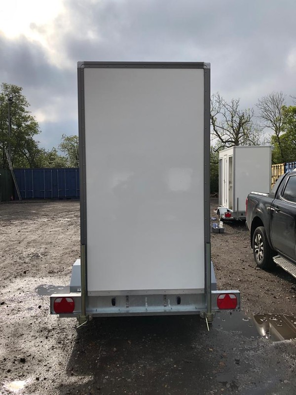 GRP toilet trailer for sale