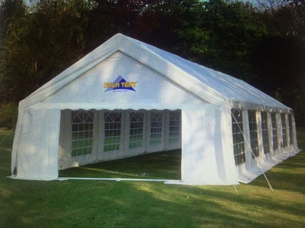 6m x 10m Gala Tent Elite PVC Marquee