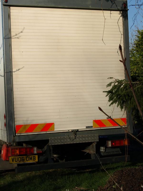 roller shutter door box Truck