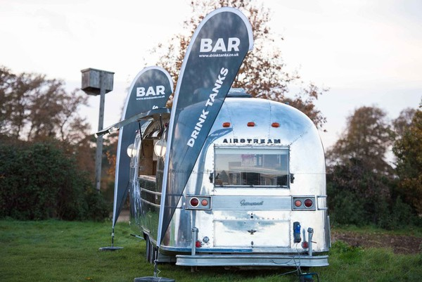 Airstream Caravan Events Bar