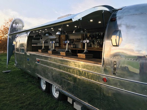Airstream Caravan Mobile Bar