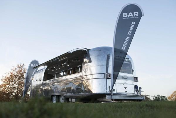 Airstream Caravan Mobile Bar Conversion