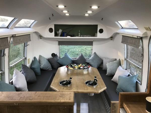 Bespoke Airstream Caravan Mobile Bar