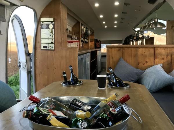 Unique Airstream Caravan Mobile Bar